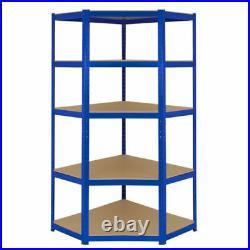 1 Corner Garage Racking/Shelving & 2 x 900mm Bays Metal Heavy Duty Shelving