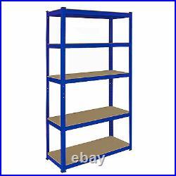 1 x Corner Racking Unit 2 x 90cm Garage Shelves Shelving Racking Boltless