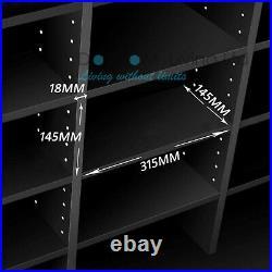1116 CD/528 DVD Storage Shelf Rack Unit Adjustable Bluray Video Games Book
