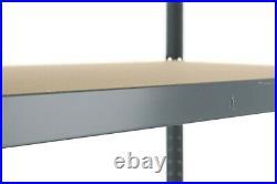 2 Garage Shelving Racking Bays 5Tier EXTRA HD Racking Shelves Storage Shed