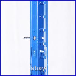 3 x Blue Metal 5 Tier Garage Shelves Shelving Unit Racking Storage 180x90x40cm
