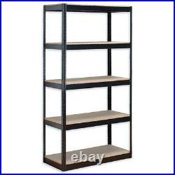 5 Tier Boltless Racking Shelving Shelves Storage Unit