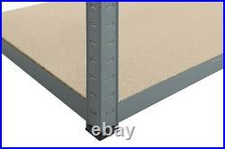 6 Garage Shelving Racking Bays 5Tier EXTRA HD Racking Shelves Storage Shed