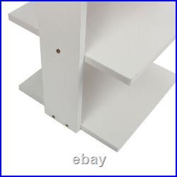 7 Tier Wood Shoe Shelf Rack Stand Storage Organiser Cabinet Shelves Footwear
