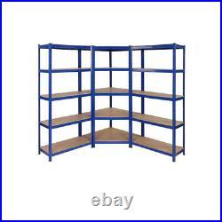 Best Price Corner Racking/Shelving 5 Tier Heavy Duty Garage Storage Racks