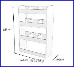 Citroen Berlingo SWB 2011-18 Van Racking Tool Storage Shelving OS Rear