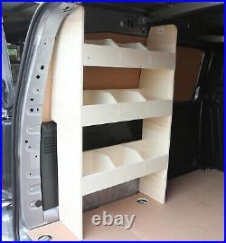 Citroen Berlingo SWB L1 2019+ Van Racking Tool Storage Shelving Passenger Side