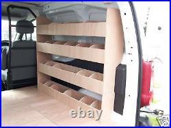 Citroen Berlingo SWB Van Racking Van Shelving Storage accessories 2008 2018