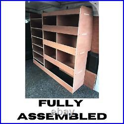 Citroen Berlingo Van Shelving Racking Plywood System Case Storage Unit Off Side
