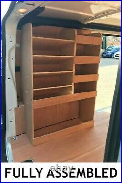 Citroen Dispatch Van Shelving Racking L2 MWB Plywood System Case Storage Unit
