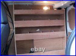 Citroen Nemo Plywood Shelving Van Racking Storage accessories