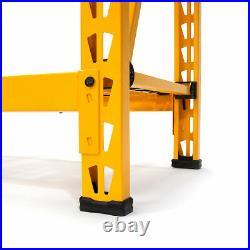 Dewalt 4 ft. Tall 3 Shelf Steel Wire Deck Storage Rack DXST4500-W