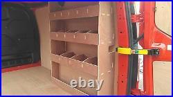 FORD Transit Custom SWB Van Shelving, Van Plywood Racking, Van tool Storage