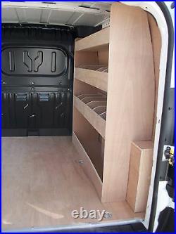 Fiat Doblo L1 H1 Van Racking Plywood Shelving Storage 2012 2018