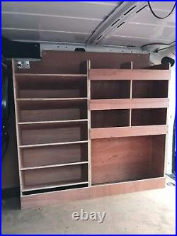 Fiat Doblo Van Shelving Racking L1 Plywood System Case Storage Unit