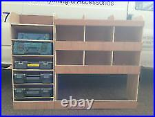 Ford Transit Connect Van Shelving Racking LWB Plywood System Ply Case Storage OS