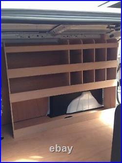 Ford Transit Connect Van Shelving Racking LWB Plywood System Tool Storage Unit