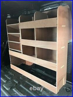 Ford Transit Connect Van Shelving Racking SWB L1 Plywood System Case Storage OS