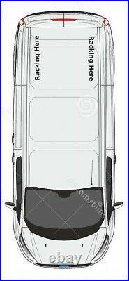 Ford Transit Custom Crew Cab Double Cab Van Racking Storage Shelving Swb
