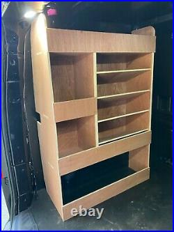 Ford Transit Custom Crew Cab Van Shelving Racking SWB Plywood System Storage