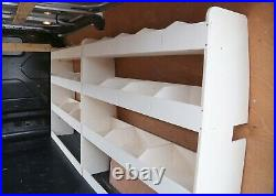 Ford Transit Custom LWB Full Drive Side DOUBLE Van Racking Shelving Tool Storage