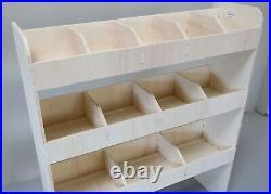 Ford Transit Custom LWB Plywood Van Racking Tool Storage Shelving NS Rear