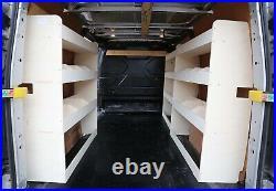 Ford Transit Custom LWB TRIPLE Van Racking Shelving XXL Complete Storage System