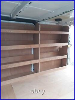 Ford Transit Custom LWB Van Racking Plywood Tool Storage Rack Ply Shelving Unit