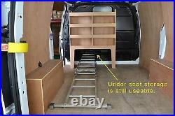 Ford Transit Custom Racking Shelving fits SWB + LWB Bulkhead storage unit WR57