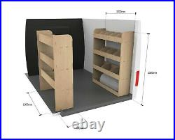 Ford Transit Custom SWB DOUBLE Van Racking Tool Storage Shelving Van Organiser