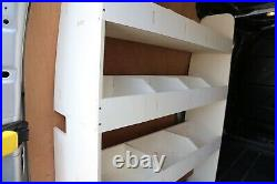 Ford Transit Custom SWB L1 Plywood Van Racking Shelving Tool Storage NS Rear