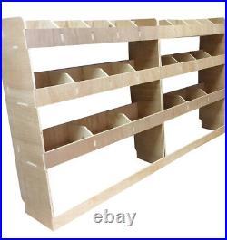 Ford Transit Custom SWB Plywood Racking Shelving, Tool Parts Storage Unit