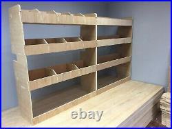 Ford Transit Custom SWB Racking, Shelving and Tool Storage, Plywood Shelf
