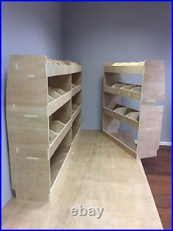 Ford Transit Custom SWB Van Racking Plywood Tool Storage Rack Ply Shelving Unit
