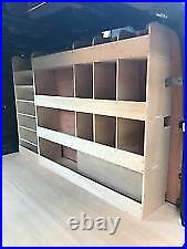 Ford Transit Custom Van Shelving Racking SWB Plywood System Case Storage Unit HH