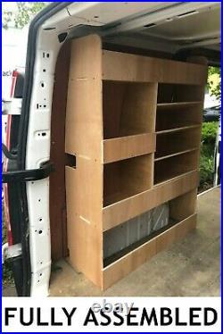 Ford Transit Custom Van Shelving Racking SWB Plywood System Case Storage Unit PS