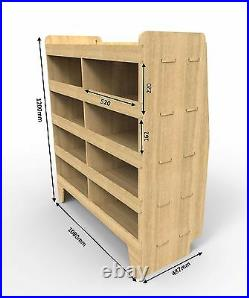 Ford Transit Custom Van Shelving Racks Racking Power Tool Storage Wrk53.59