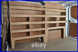 Ford Transit Custom Van Shelving Tool Storage Racking Package WRK47-53