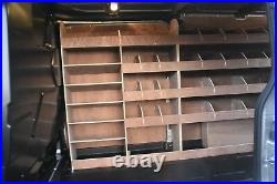 Ford Transit T350 L2 Van Racking Plywood Tool Storage Rack Ply Shelving Unit