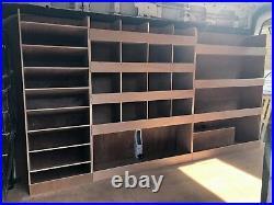 Ford Transit Van Shelving Racking LWB L3 Plywood System Case Storage Unit
