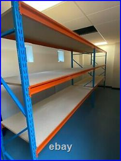 G-Rack 5 Tier Heavy Duty Storage Rack Blue (0026)