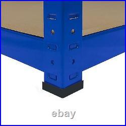 Garage Shelves Shelving 5 Tier Racking Boltless Heavy Duty Storage Shelf 160cm