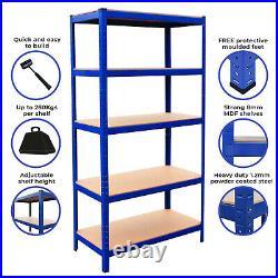 Garage Shelves Shelving 5 Tier Unit Racking Boltless Heavy Duty Storage Shelf