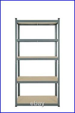 Garage Shelving Unit 5 Tier EXTRA Heavy-Duty 176x90x45cm Racking Shelf Storage