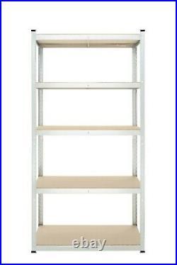 Garage Shelving Unit 5 Tier Racking Shelf Storage 176x90x40cm 175kg Shelves