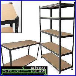 Heavy Duty Boltless Shelving Rack 5 Tier Home Garage/Shed Shop Display Garage x3