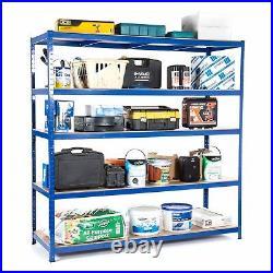 Heavy Duty Garage Racking Shelving Unit 200KG UDL 1800mm x 1800mm x 600mm