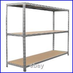Heavy Duty Racking Garage Warehouse Storage Shelving Unit Steel Shelves 1200kg