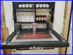 Homemade Outdoor Indoor Mini Bar Man Cave Lads Pad Shelf Rack Storage Bar Pub