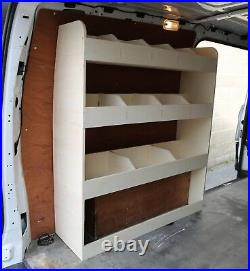 Mercedes Vito LWB Van Racking Tool Storage Shelving NS Rear